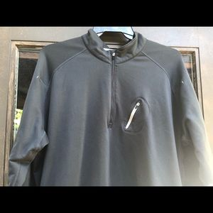 Nike Fit Dri Men's Charcoal Full Zip Sweatshirt